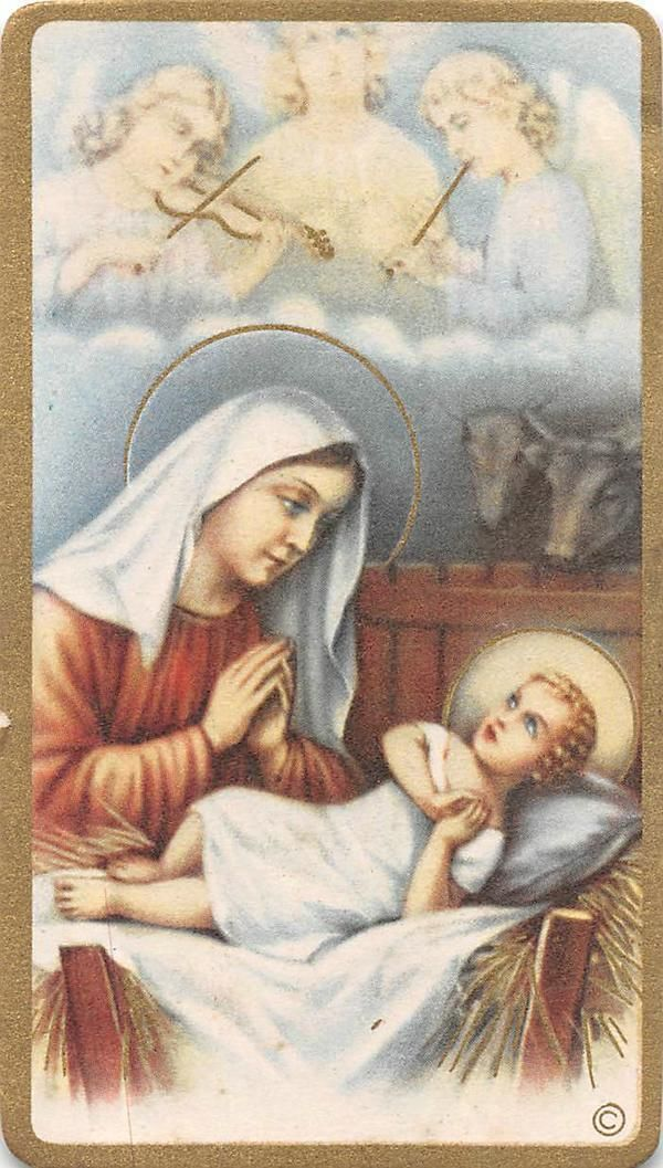"""OLD nice rare Holy cards 60`s """"H8317"""" san maria baptism to jesus FOR SALE • CAD $6.55 • See Photos! Money Back Guarantee. """"H8317"""" today i offered you old HOLY card , it is from the company as Printed in italy. Super Scarce card to find. Holy Card was printed on high quality 371870541265"""