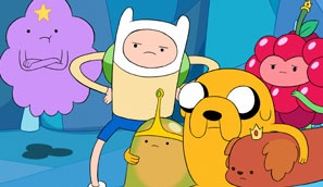 Adventure Time - the crew