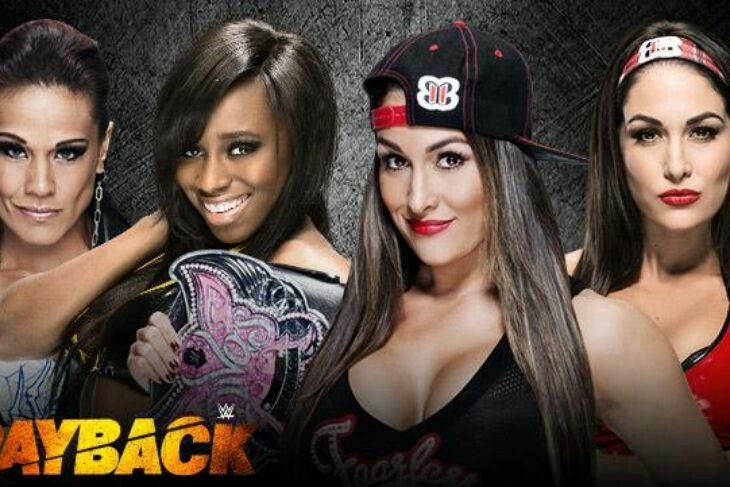 """ WWE DIVAS CHAMPIONSHIP TITLE ON THE LINE "" ..."