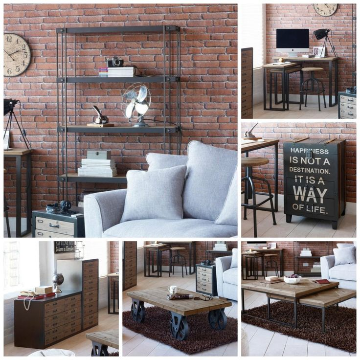 Modern Rustic Living Room Furniture: 1000+ Ideas About Rustic Industrial Furniture On Pinterest