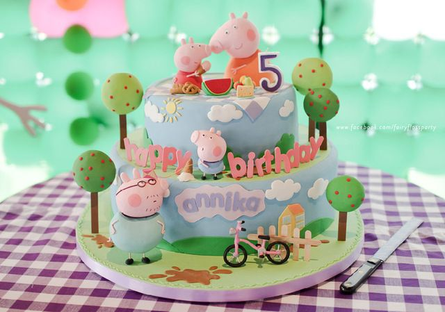"""Photo 5 of 17: Peppa the Pig / Birthday """"Annika is turning 5!"""" 