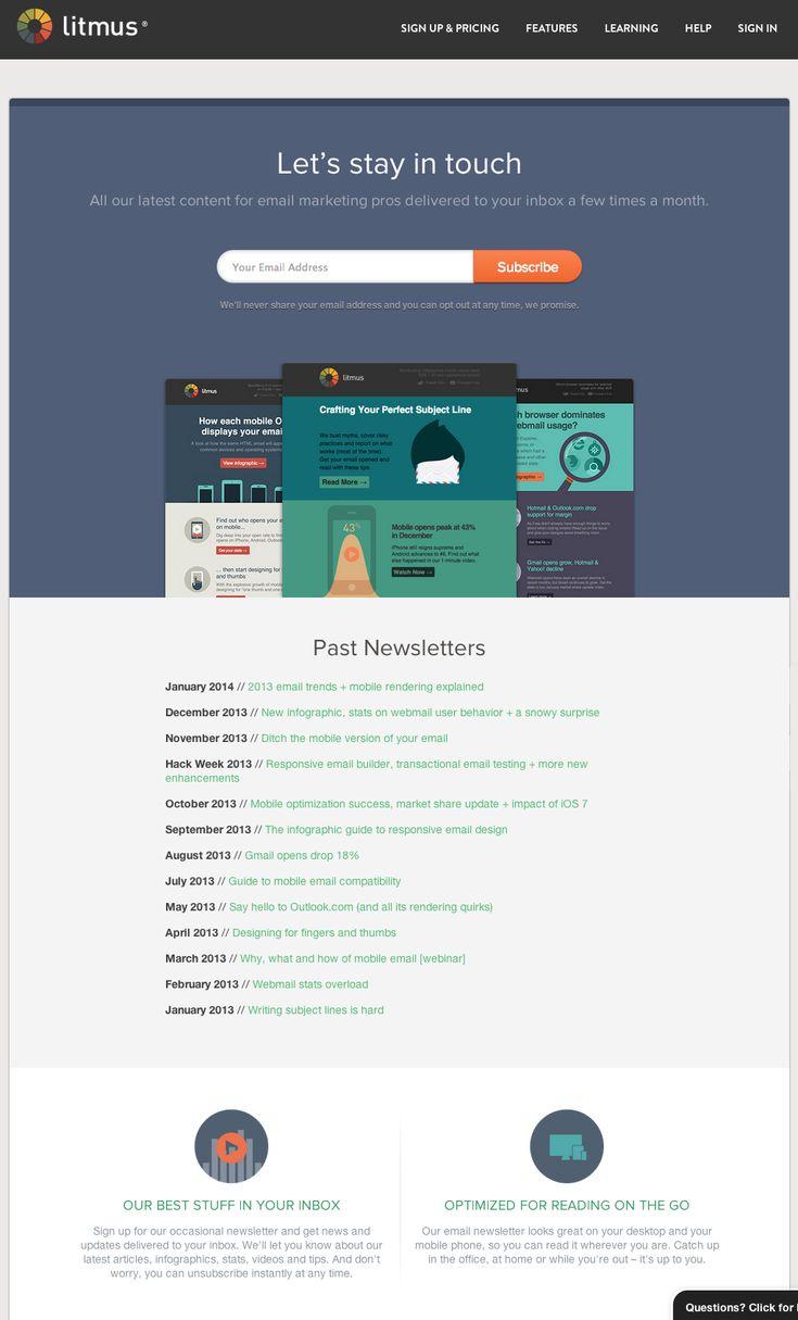 241 best Web Design - Landing Pages images on Pinterest | Landing ...