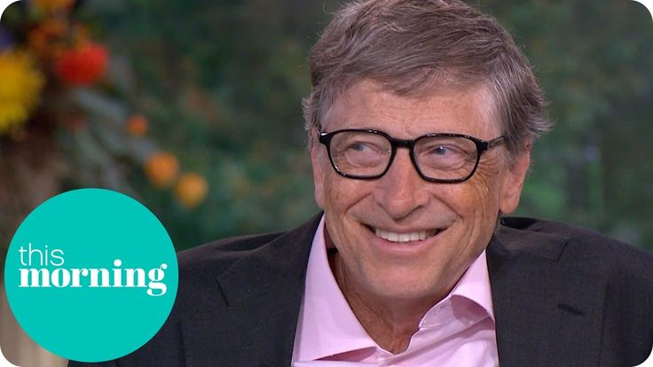Bill Gates Talks Dropping Out Of College And Reveals His Biggest Extravagance   This Morning - YouTube