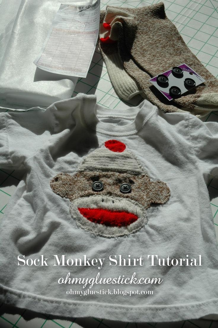 Red Heel Monkey Socks