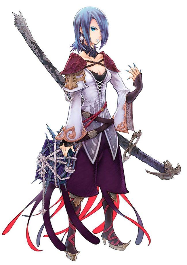 Illua - Characters & Art - Final Fantasy Tactics A2: Grimoire of the Rift