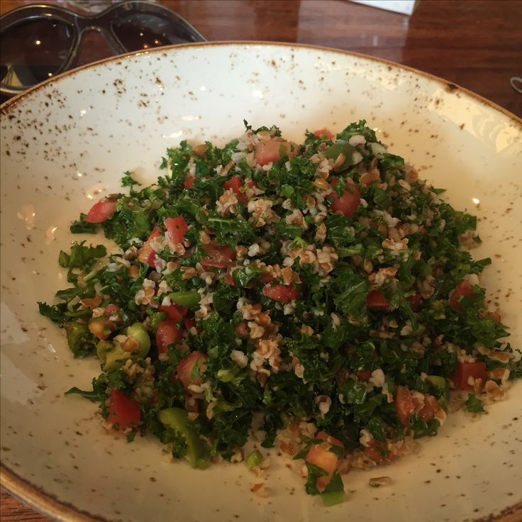 Kale Tobouli Fig Restaurant brunch Santa Monica