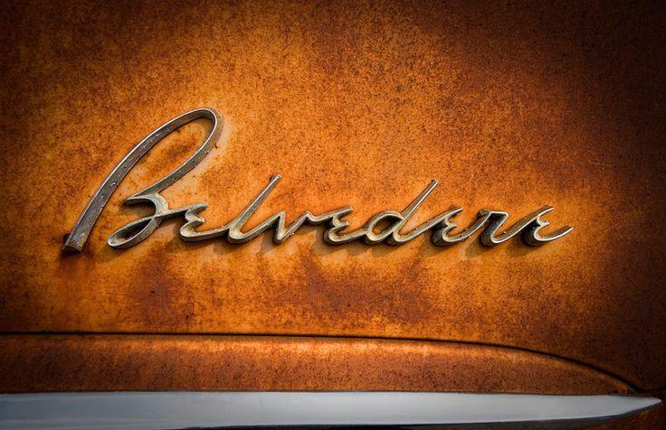 1950S Belvedere, Classic Cars, Automotive Badges, Auto Badges, Tattoo Fonts, Cars Emblem, Chrome Cars Logo, Auto Typography, 1950S Classic