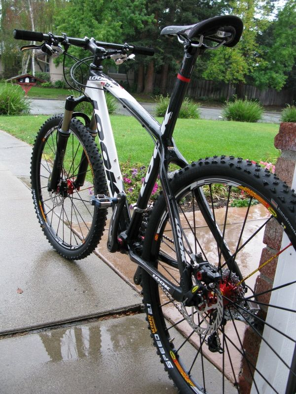 Mountain biking. 6 weeks till the broken bond heals. Back on the bike...