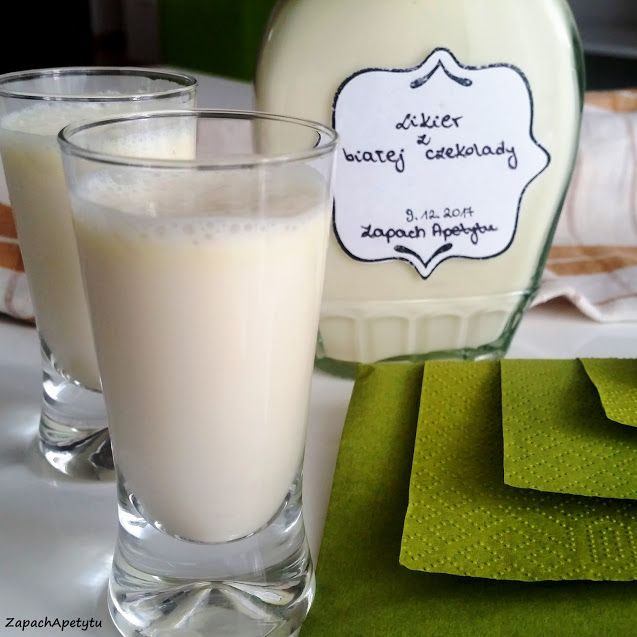 White chocolate liquor #zapachapetytu #whitechocolate #liquor