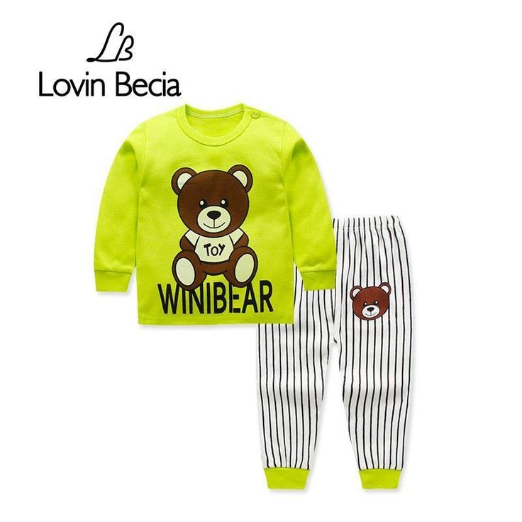 LovinBecia 2pcs Set Baby Underwear Boys Clothing Sets Cartoon Casual clothes Girls pajamas suits toddler infant kids tracksuit. Yesterday's price: US $8.66 (7.09 EUR). Today's price: US $4.16 (3.42 EUR). Discount: 52%. #babyunderwear #babyboyunderwear