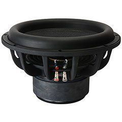 "Dayton Audio UM12-22 12"" Ultimax DVC Subwoofer 2 ohm Per Coil. Dayton Audio's Ultimax Series DVC subwoofers are purpose-built to move air and create clean, articulate, fast bass. Experience the apex of subwoofer design."