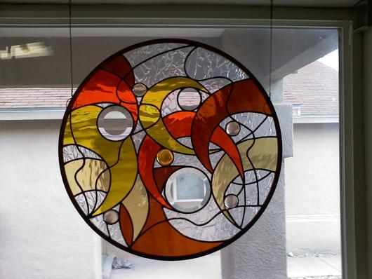 Gemini 2 - Delphi Stained Glass