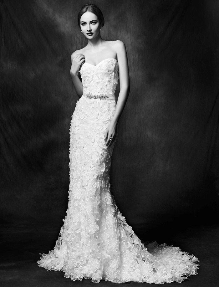 Lusan Mandongus Wedding Dresses | Bridal Collection. | http://www.itakeyou.co.uk/wedding/lusan-mandongus-wedding-dresses-2015 #weddingdresses #weddinggown