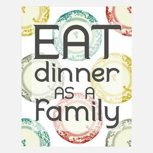 Eat As A Family Print http://fab.com/e7t75g  ... Join FAB,and when you do,let me know and I'll send you a  credit to shop there !