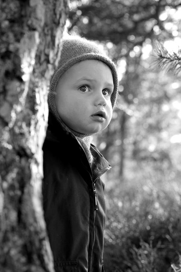 Et Nytt Kapittel - portrait, black and white, thoughtful