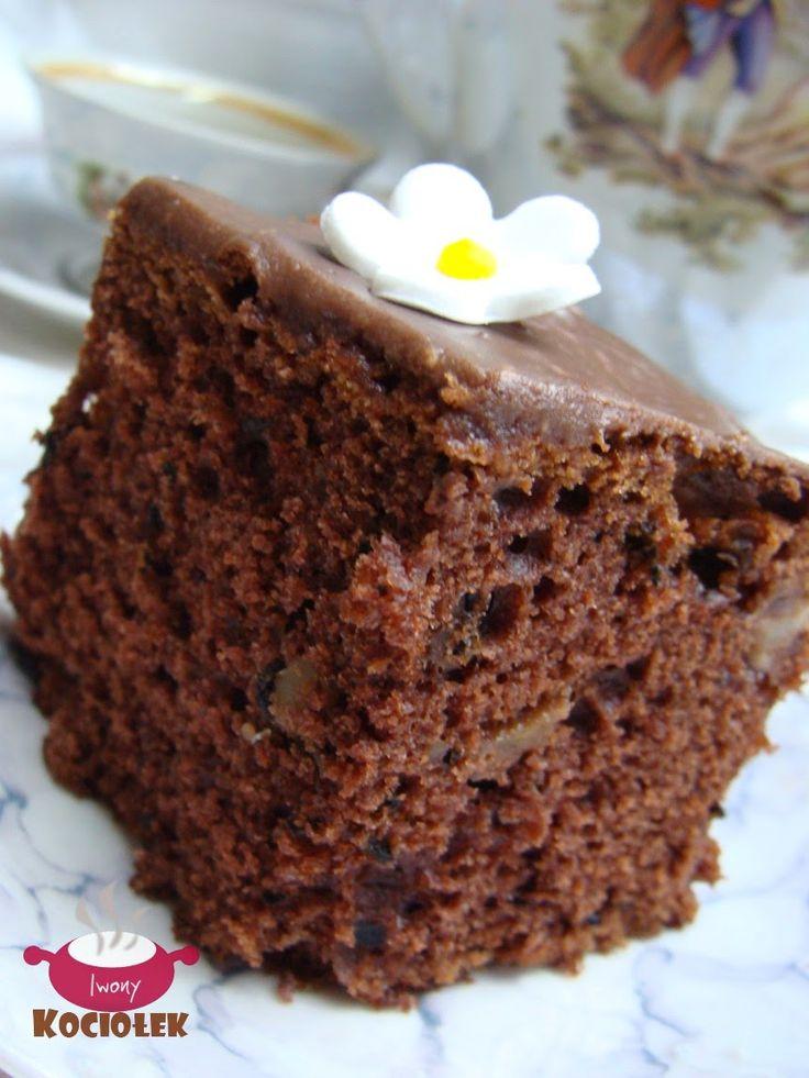 Kociołek Iwony: Ciasto czekoladowe