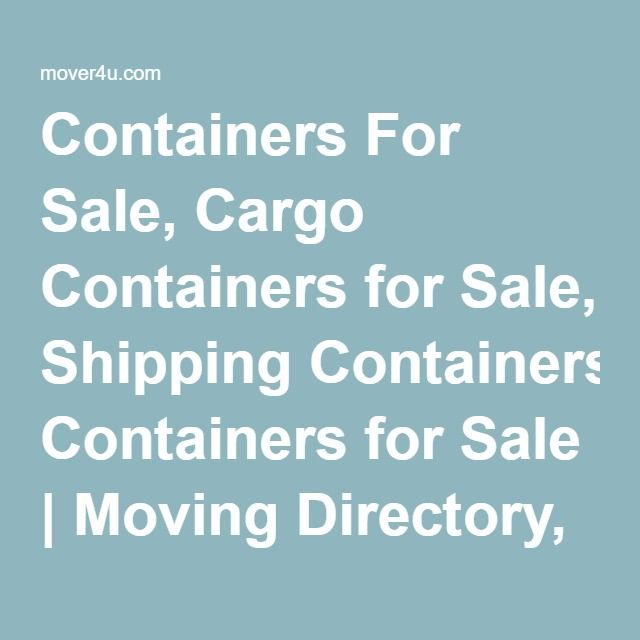 Pods Quote: 25+ Best Ideas About Containers For Sale On Pinterest