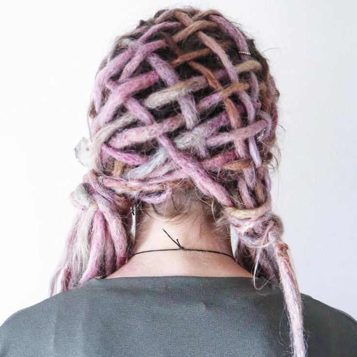 Dread Pigtails Hairstyle