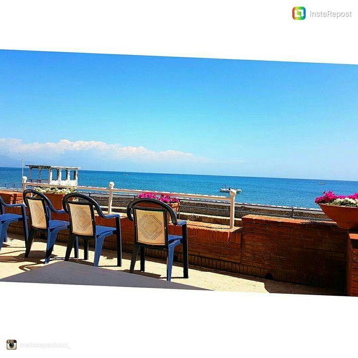 La terrazza vista mare #repost