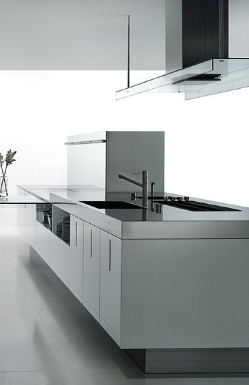 Zone, minimalist kitchen island by Boffi_.I  love this kitchen.Please check out my website thanks. www.photopix.co.nz