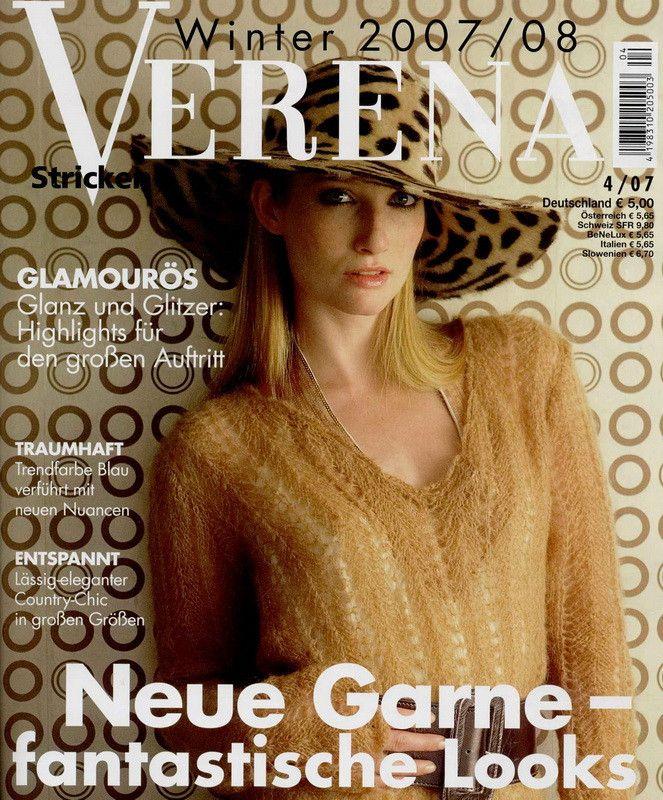 (俄文)verena 4 2007 --- 棒针服装 (1) - 紫苏 - 紫苏的博客