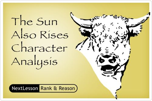 sun also rises critical essay The sun also rises: theme analysis, free study guides and book notes  including comprehensive chapter analysis, complete summary analysis, author.