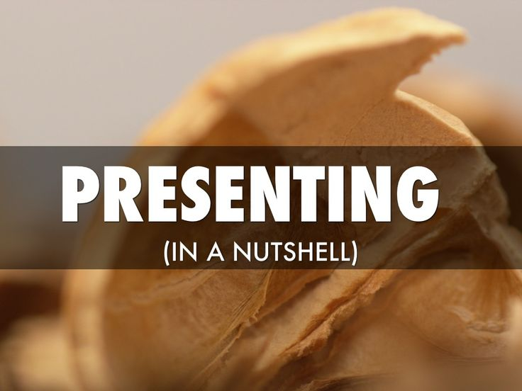 """Bill Seaver's Haiku Deck on """"Presenting (In a Nutshell)"""" illustrates his strategy and #tips for creating a great #presentation."""