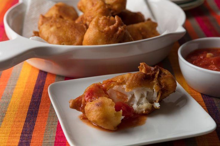 Crispy Fried Fish With Neapolitan Red Sauce (Salsa Rossa)