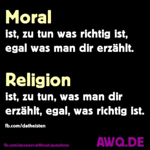 Meme: Moral und Religion