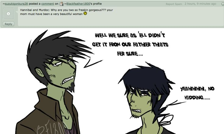 how did 2d and murdoc meet the browns