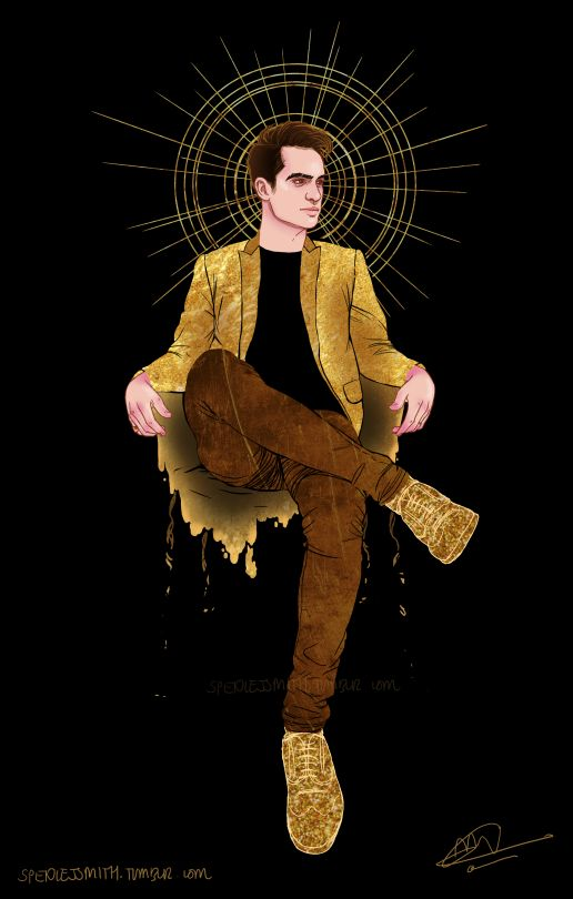 Fall Out Boy And Panic At The Disco Wallpaper Brendon Urie Fan Art Panic At The Disco Brendon Urie