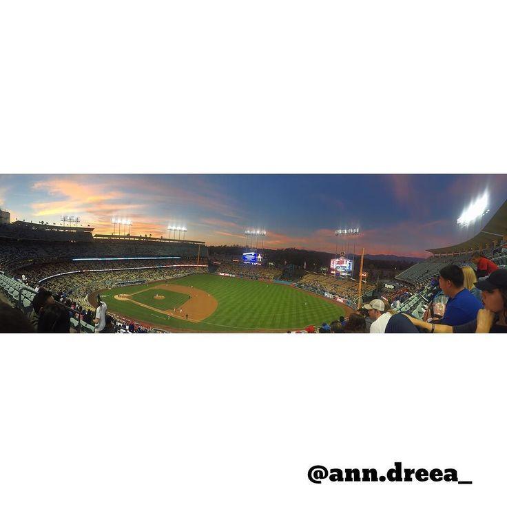 THINK BLUE: Dodgers vs Angels#dodgerssocial#thinkblue# by ann.dreea_