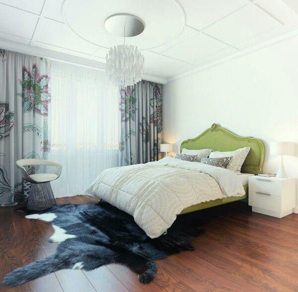 Кровать или ковер? :D