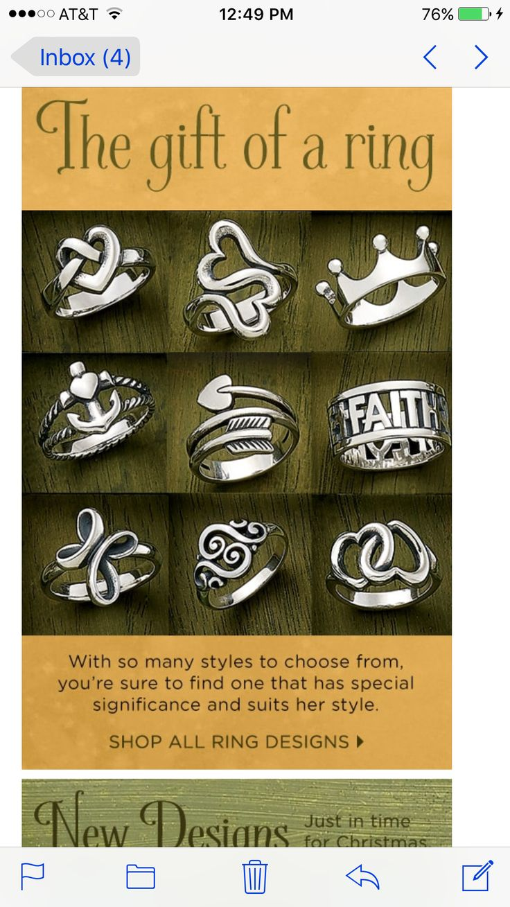 Rings || James Avery