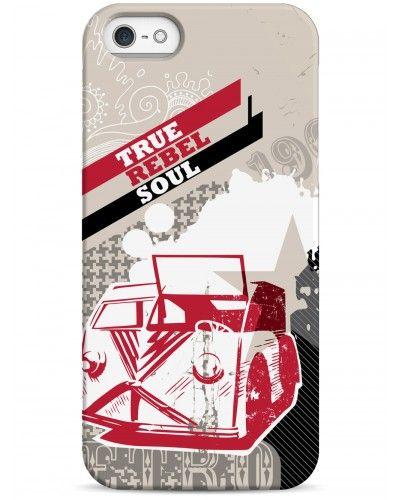True rebel soul - iPhone 5 / 5S / 5C Дизайнерские чехлы для iPhone