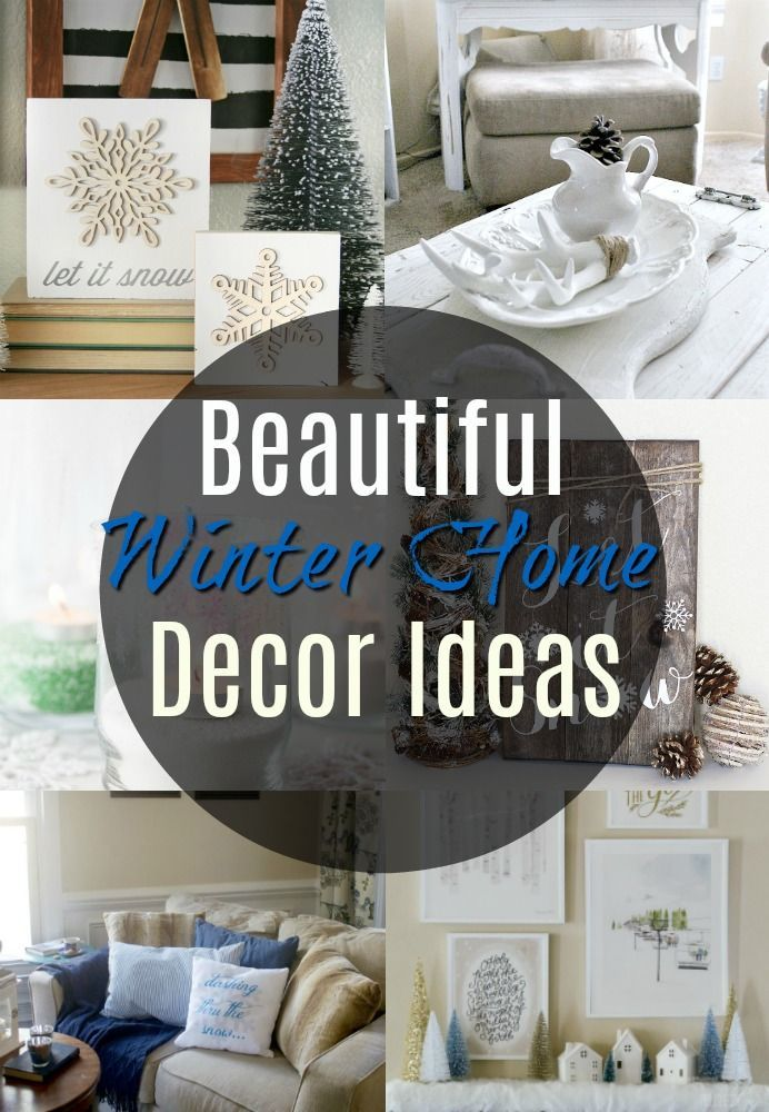 Beautiful Post Holiday Winter Home Decor Ideas Resin Crafts Blog