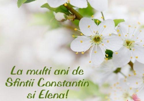 La multi ani de Sfintii Constantin si Elena!