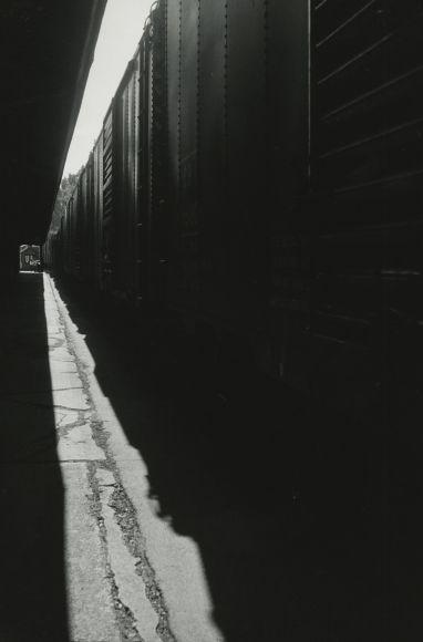 Louis Stettner - Untitled (Train), 1950