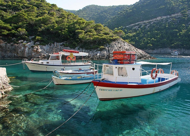 Zakynthos - Greece.  Who can be mad at them for their appalling lack of fiscal responsibility?