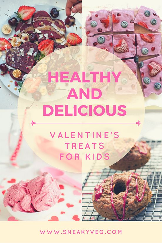 Valentine's food doesn't have to be unhealthy. Here are some of my favourite recipes for healthy Valentine treats for kids. Delicious, colourful and fun Valentine's Day food that's low in sugar for a healthy way to celebrate with your loved ones.
