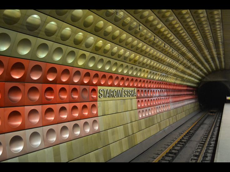 Metro Station Prag Praha (Tschechien) by Philine Winkler