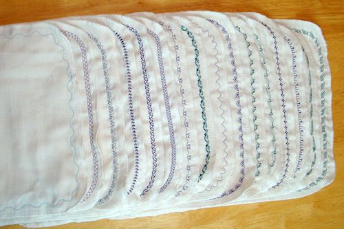 Next on my sewing project list, un-paper towels.  birdseye all ready!