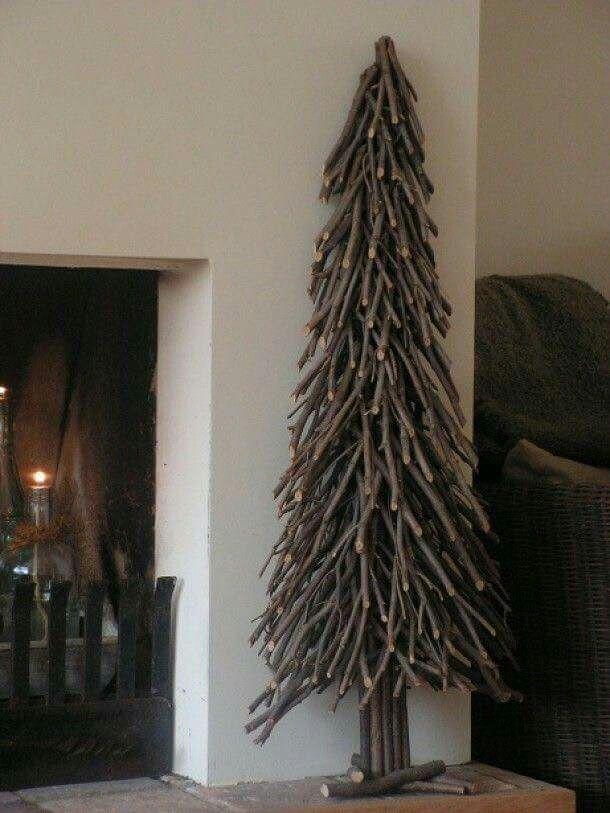 ...made of sticks...