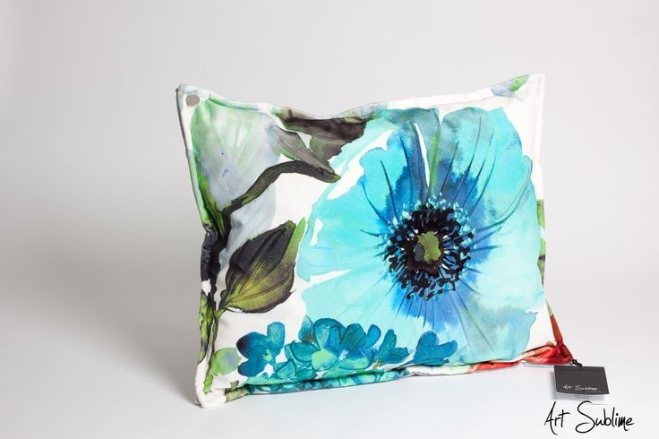 €149,00  EXTRAVAGANCE Coral Blossom Torquoise size:65cmx55cm www.art-sublime.com  Art Sublime cushion, pillow www.facebook.com/ArtAndSublime?fref=ts -  #decorative pillow #cushion #decor #design #homedecor #decorative #Decorative pillow #interior design #poduszki ozdobne #art sublime #Decorate Your Home #armchair #chair #poduszki aksamitne #luksusowe poduszki