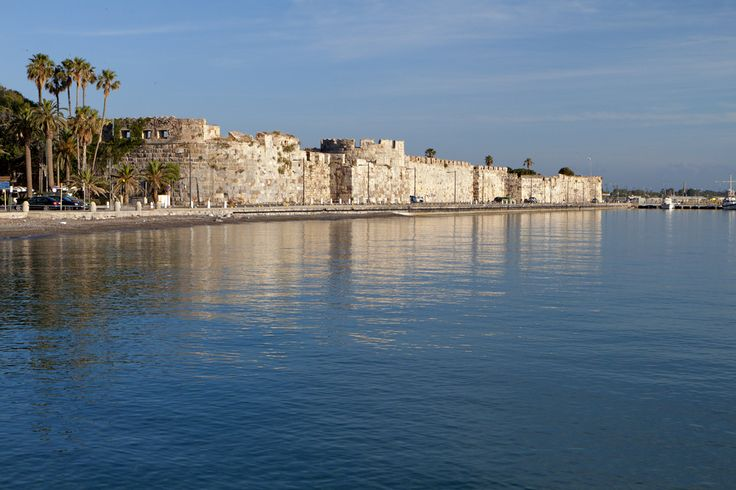 VISIT GREECE| The Saint John Knights castle in #Kos  #visitgreece #greece
