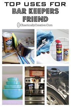 Top Uses for Bar Keepers Friend - Chaotically Creative