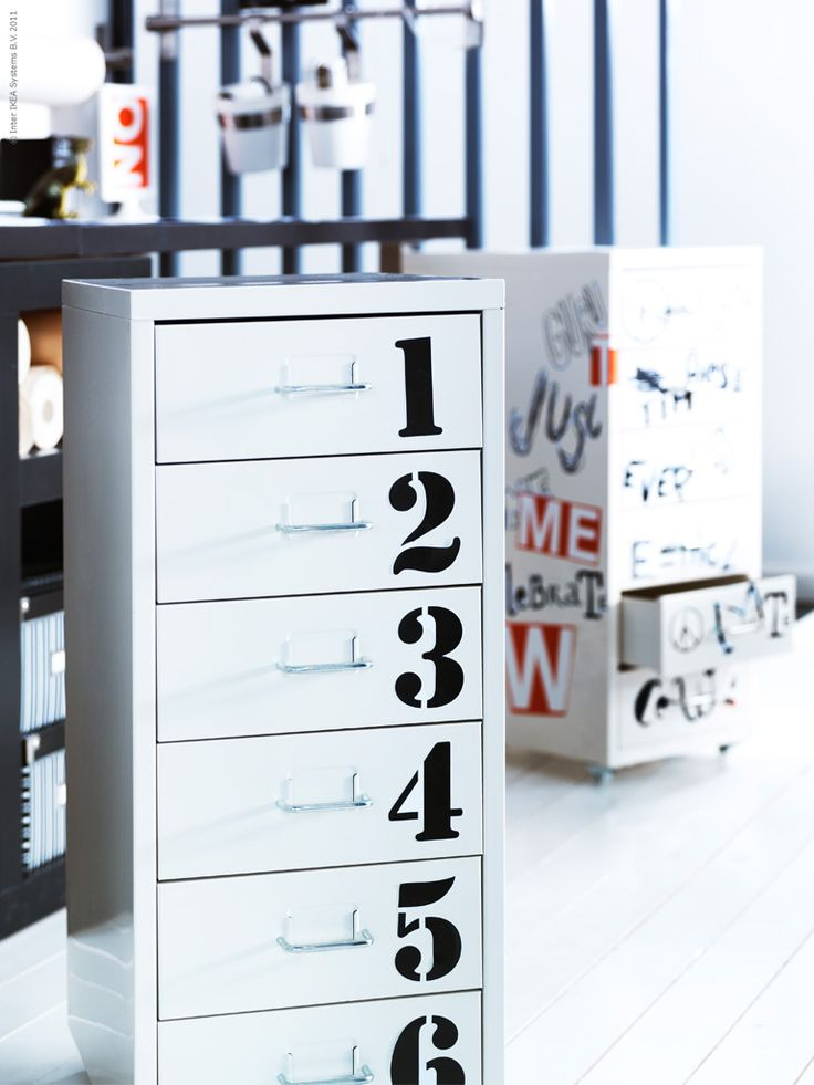 Great for a kids room and a way to teach them their numbers and organization...get your socks from drawer number 3 !!!!