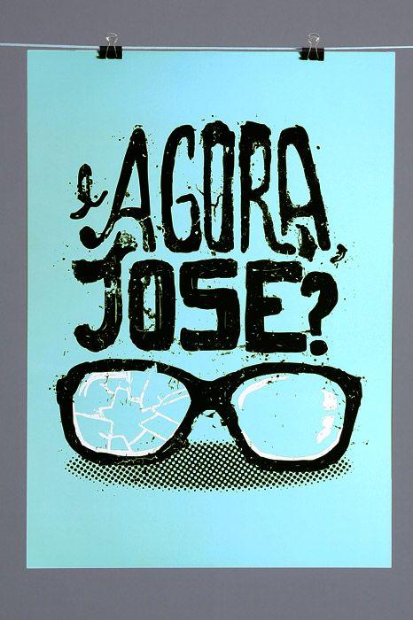 Poster E Agora, José?