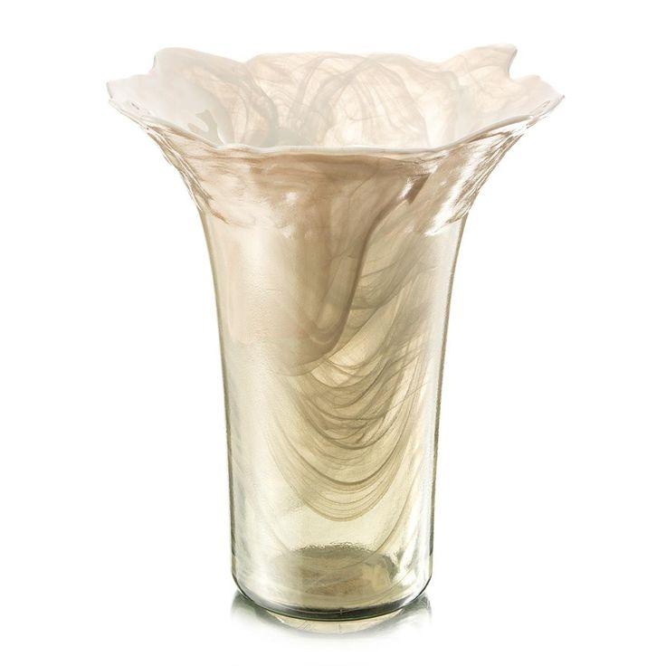 Alabaster Flare Vase