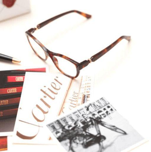 lunettes Cartier Trinity optique